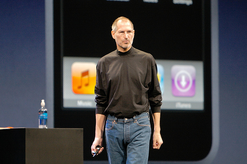 File:Steve Jobs talks about the iPhone.jpg