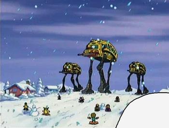 Snow Walkers on Assault