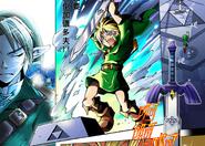 Link in Manga