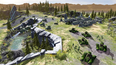 Halo Wars UNSC rollout
