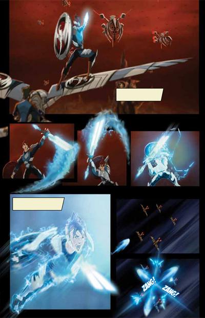 Black Demon Fleet Facing Thunder Strike