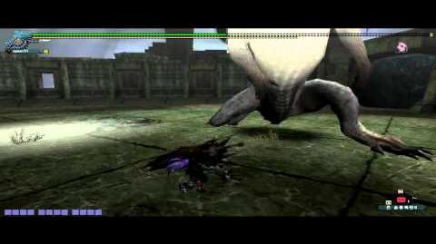 Mhfo white fatalis solo with Gs test