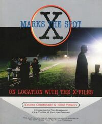 X Marks the Spot (On Location with The X-Files) cover