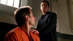 Alex Krycek's ghostly presence warns Fox Mulder