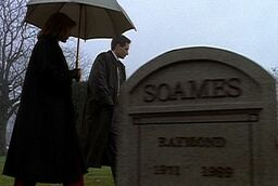 Raymond Soames' grave
