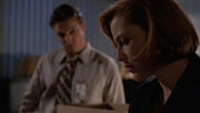 Detective John Kresge Dana Scully Christmas Carol