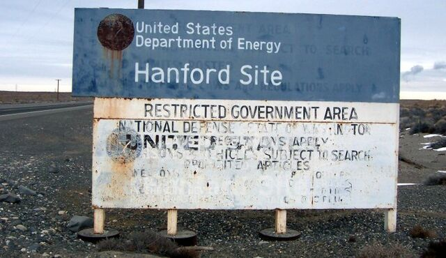 File:Hanford Site sign.jpg