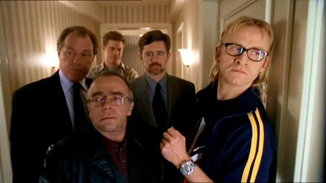 File:The Lone Gunmen with Jimmy Bond and Morris Fletcher.jpg