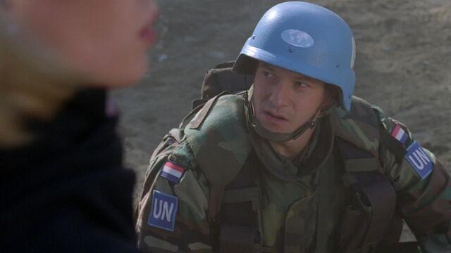 File:Dutch UN peacekeeper, 1998.jpg
