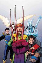 X-Men Blue Vol 1 4 Textless