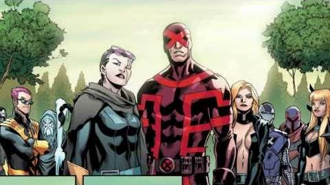 Uncanny X-Men 13 Cover Recap - Marvel AR