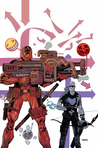 File:Hawkeye vs. Deadpool Vol 1 1 Textless.jpg