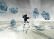 Jateamento do Cristal de Gelo
