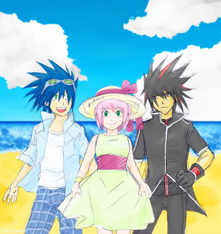 File:Summertime Sonic Amy Shadow by ihearrrtme.jpg