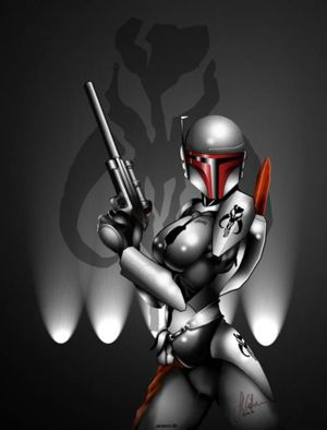 File:Maya, in her primary hunter suit in the story.jpg