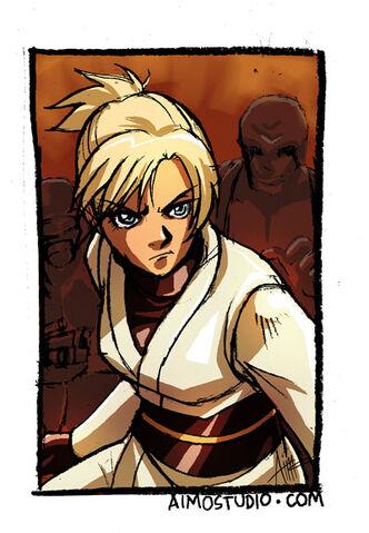 File:Kayle fights in the Mandalorian Battle Circle.jpg