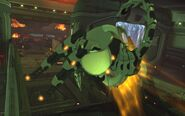 XEU Cyberdisc grenade attack