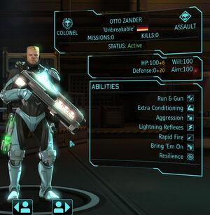 XCOM(EU) Hero OttoZander