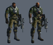 Concept - Soldier male