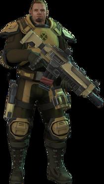 XCOM-EU Soldiers Class - Support