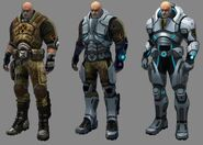 XCOM(EU) ArmorProgression