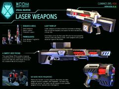 XCOM-EU Laser Weapons