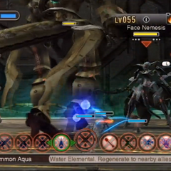 Face Nemesis during the second battle