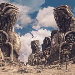 Statues in Oblivia