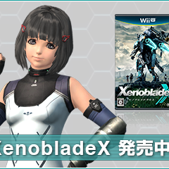 XenobladeX release announcement in Japan