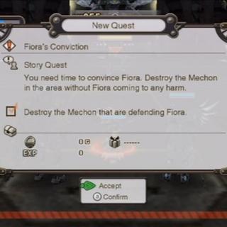 Story Quest involving Face Nemesis