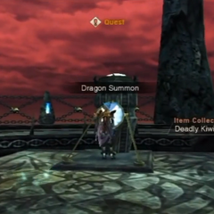 The Dragon Summon switch at the Basverg Belfry