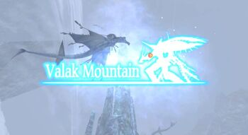 Valak Mountain Location
