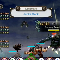 The battle against the Sureny Telethia on the Junks Deck
