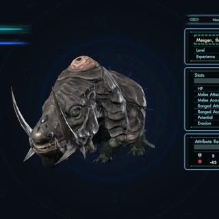 Mesgen in the Enemy Index
