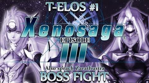 Ⓦ Xenosaga Episode 3 Walkthrough - T-elos 1 Boss Fight