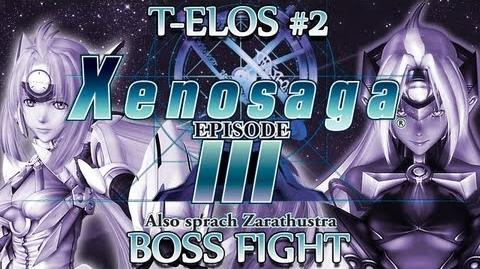 Ⓦ Xenosaga Episode 3 Walkthrough - T-elos 2 Boss Fight