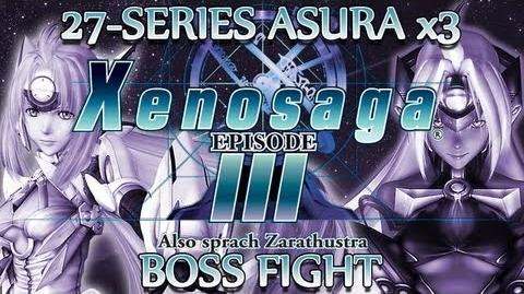 Ⓦ Xenosaga Episode 3 Walkthrough - 27-Series Asura x3 Boss Fight