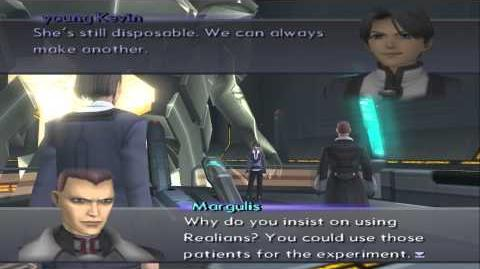 Xenosaga III HD Cutscene 164 - Her Father's True Nature (Labyrinthos) - ENGLISH - REGULAR MODE