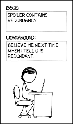 Xkcd1822 redundant bug reports