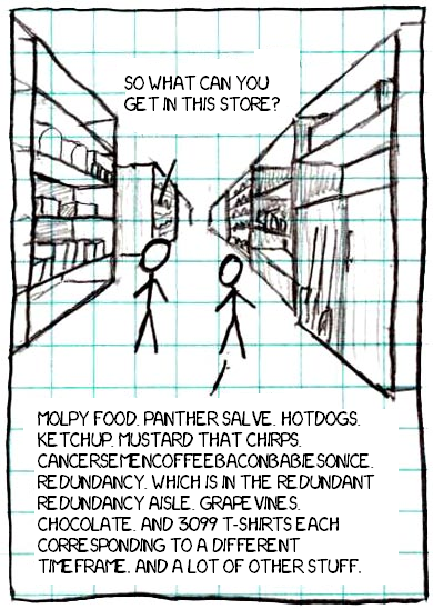 The OTT store 28xkcd 2129