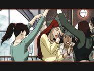 Walk on the wild Side- Kitty, Jean, Amara n Rogue dancing