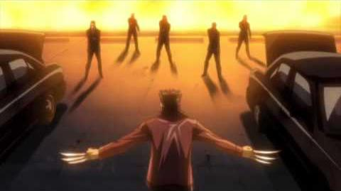 Wolverine Anime Clip 2