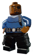 Nick Fury .Lego Marvel Superheroes