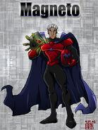 X MEN Evolution on TV Magneto by Bogyeong