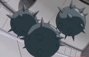 Danger room -Spiked balls