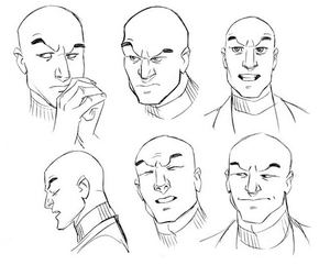 DrawXav- Faces III