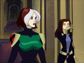 Shadow Dance Rouge and Kitty Pryde