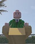 Lego Marvel Super Heroes .Professor Xavier