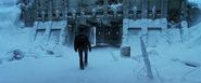 Logan walking inside Alkali Lake Base - Surface (X2 - 2003)