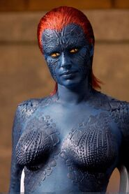Mystique in prison